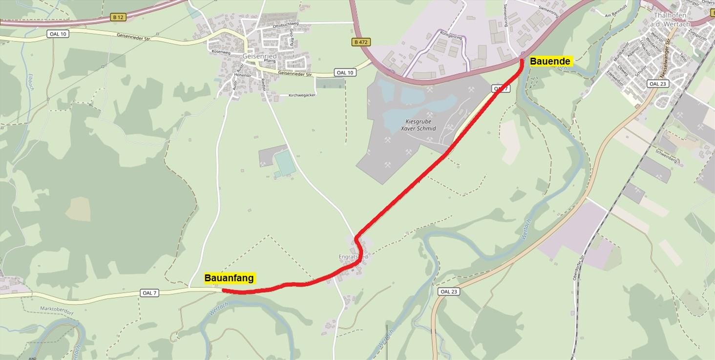 OAL07-03 BA 2 Ausbau B 472 bis Engratsried mit OD Engratsried