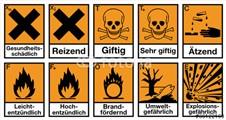 Gefahrensymbole alt