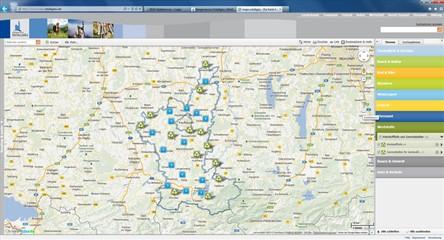 Karte der Wertstoffhöfe und Sammelstellen für Gartenabfälle