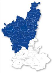 Karte Sperrgebiet Blauzungenkrankheit