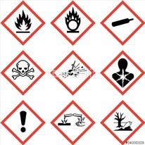 Gefahrensymbole neu