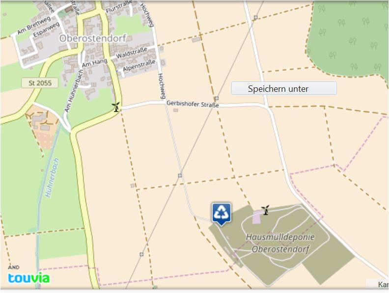 Lageplan HMD Oberostendorf